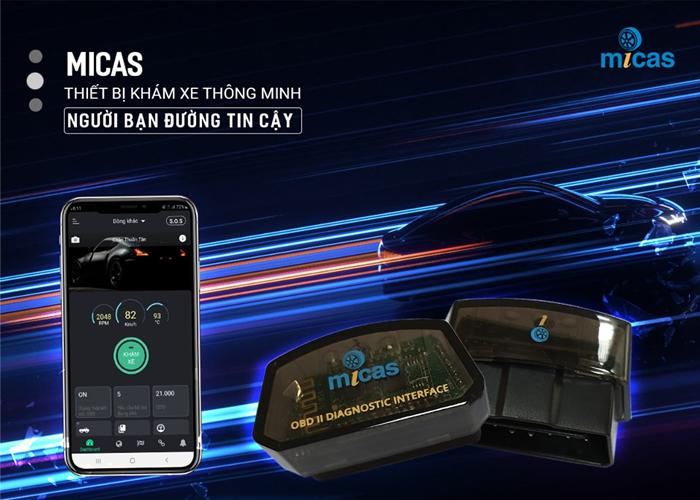 thiết bị khám xe thông minh Micas